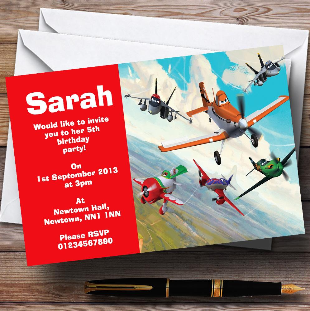 10 x Personalised Children\'s Birthday Party Invitations Kids Invites ...