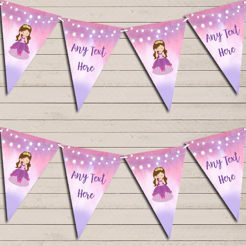 Personalised Children's Birthday Party Banner Bunting Lots Of Unique Designs For Decoration